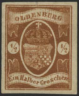 Lot 5574 - altdeutschland Oldenburg - Markenausgaben -  Auktionshaus Ulrich Felzmann GmbH & Co. KG