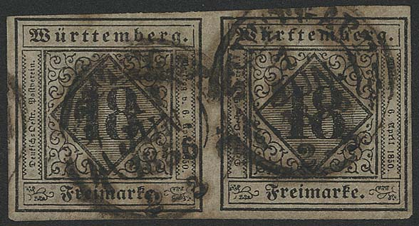 Lot 5631 - altdeutschland Württemberg - Markenausgaben -  Auktionshaus Ulrich Felzmann GmbH & Co. KG