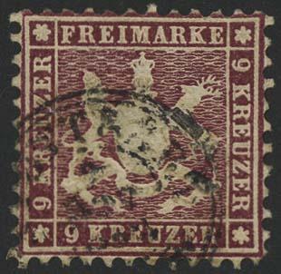 Lot 5635 - altdeutschland Württemberg - Markenausgaben -  Auktionshaus Ulrich Felzmann GmbH & Co. KG