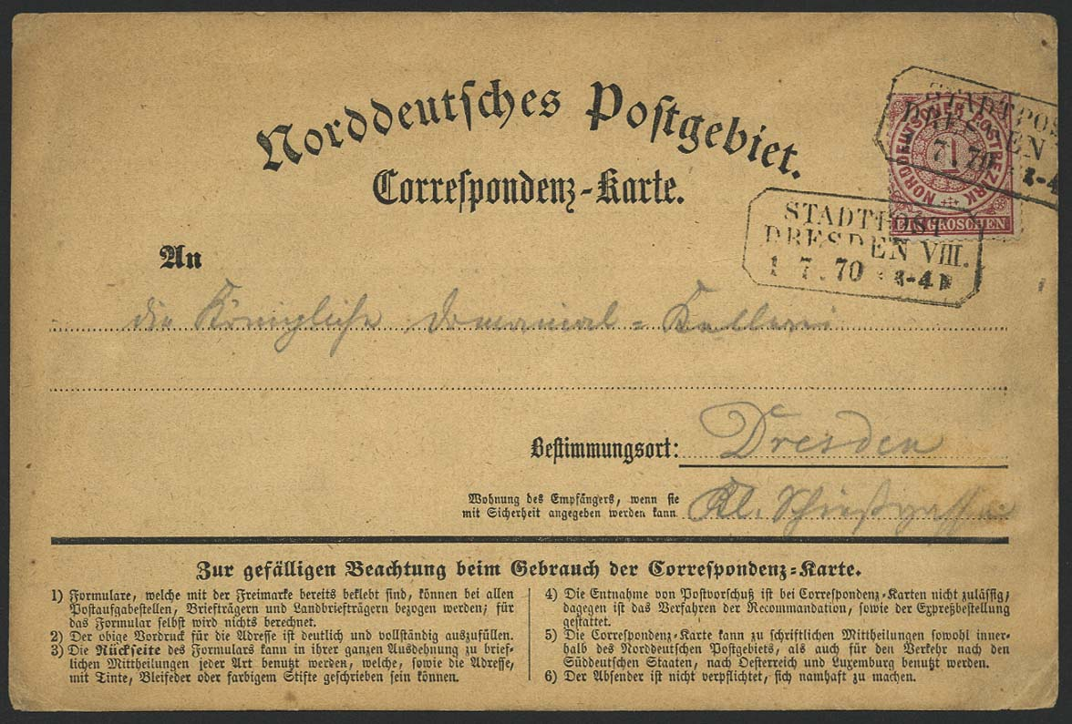 Lot 5645 - altdeutschland Norddeutscher Postbezirk (NDP) - Markenausgaben -  Auktionshaus Ulrich Felzmann GmbH & Co. KG