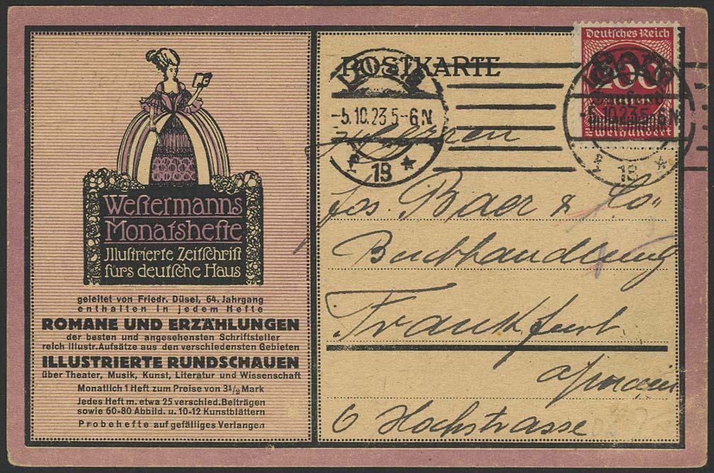 Lot 5726 - Deutsches Reich inflation -  Auktionshaus Ulrich Felzmann GmbH & Co. KG