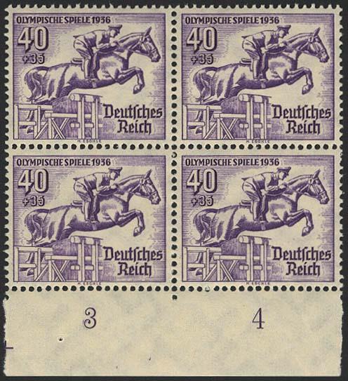 Lot 5809 - Deutsches Reich drittes reich -  Auktionshaus Ulrich Felzmann GmbH & Co. KG
