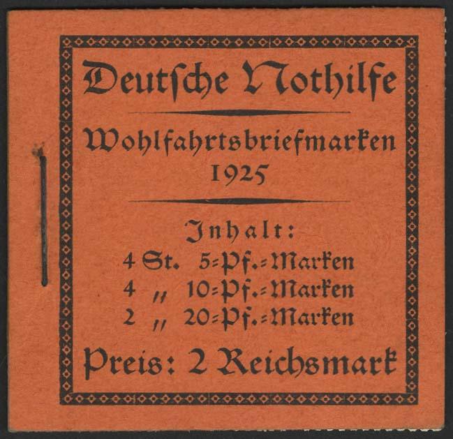 Lot 5832 - Deutsches Reich markenheftchen -  Auktionshaus Ulrich Felzmann GmbH & Co. KG