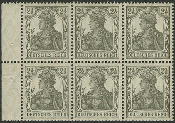 Lot 5854 - Deutsches Reich Markenheftchenblätter -  Auktionshaus Ulrich Felzmann GmbH & Co. KG