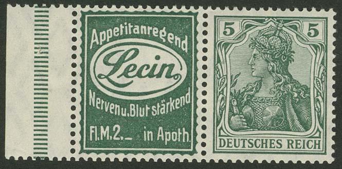 Lot 5884 - Deutsches Reich zusammendrucke -  Auktionshaus Ulrich Felzmann GmbH & Co. KG
