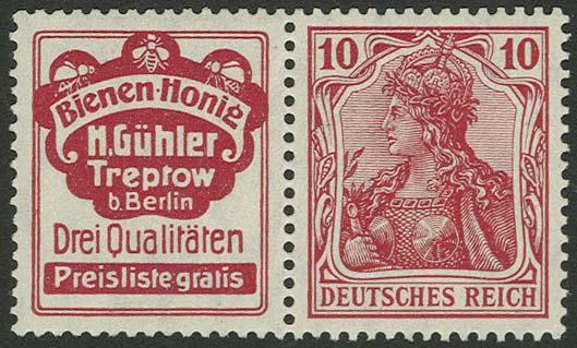 Lot 5889 - Deutsches Reich zusammendrucke -  Auktionshaus Ulrich Felzmann GmbH & Co. KG