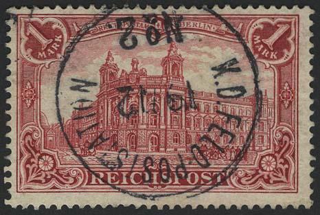 Lot 5912 - Auslandspostämter & Kolonien Deutsche Post in China - Markenausgaben -  Auktionshaus Ulrich Felzmann GmbH & Co. KG