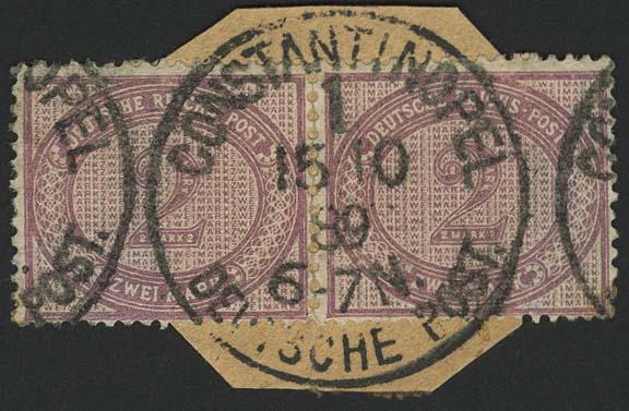 Lot 5924 - Auslandspostämter & Kolonien deutsche post in der türkei - vorläufer -  Auktionshaus Ulrich Felzmann GmbH & Co. KG