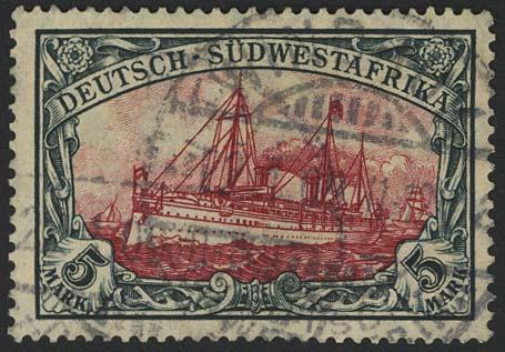Lot 5934 - Auslandspostämter & Kolonien Deutsch-Südwestafrika - Markenausgaben -  Auktionshaus Ulrich Felzmann GmbH & Co. KG
