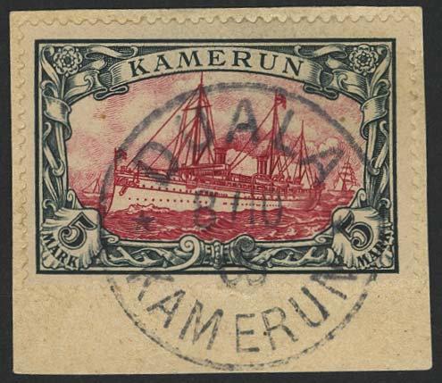Lot 5936 - Auslandspostämter & Kolonien Kamerun - Markenausgaben -  Auktionshaus Ulrich Felzmann GmbH & Co. KG