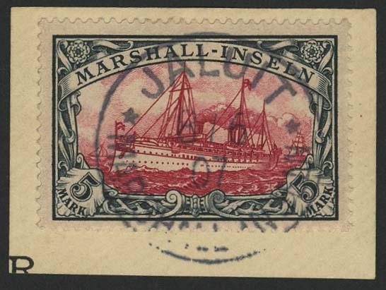 Lot 5968 - Auslandspostämter & Kolonien Marshall-Inseln - Markenausgaben -  Auktionshaus Ulrich Felzmann GmbH & Co. KG
