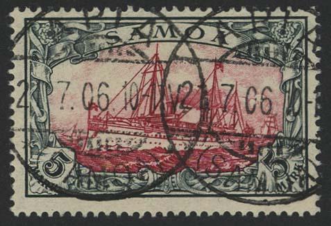 Lot 5970 - Auslandspostämter & Kolonien Samoa - Markenausgaben -  Auktionshaus Ulrich Felzmann GmbH & Co. KG