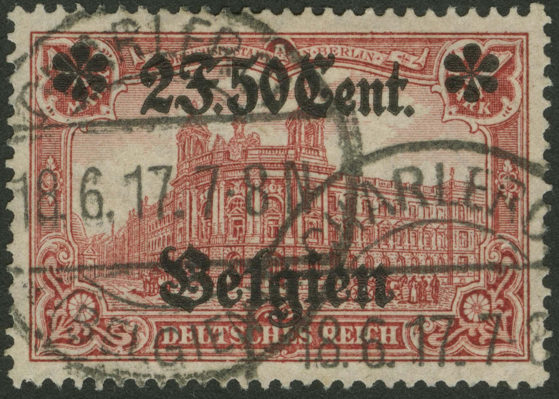 Lot 5975 - besetzungen i. weltkrieg Landespost in Belgien - Markenausgaben -  Auktionshaus Ulrich Felzmann GmbH & Co. KG