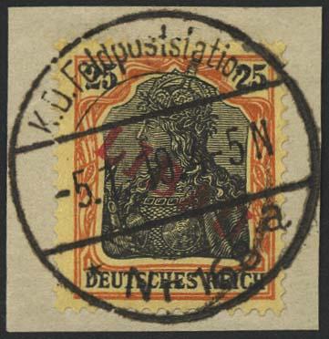 Lot 5978 - besetzungen i. weltkrieg Postgebiet Ober-Ost - Libau -  Auktionshaus Ulrich Felzmann GmbH & Co. KG