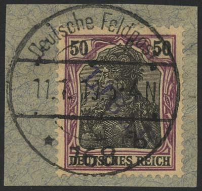 Lot 5980 - besetzungen i. weltkrieg Postgebiet Ober-Ost - Libau -  Auktionshaus Ulrich Felzmann GmbH & Co. KG