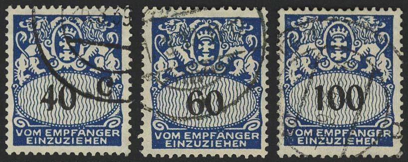 Lot 6052 - danzig portomarken -  Auktionshaus Ulrich Felzmann GmbH & Co. KG