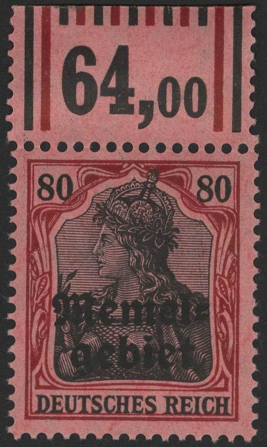 Lot 6053 - Memel Markenausgaben -  Auktionshaus Ulrich Felzmann GmbH & Co. KG