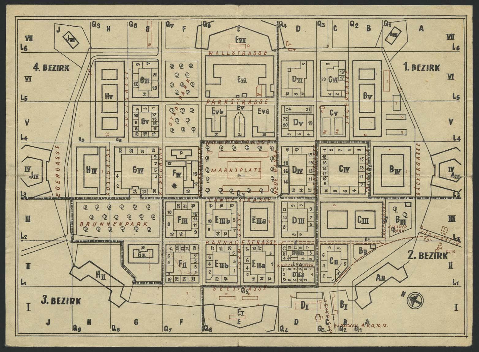 Lot 6292 - Lagerpost II. WK Post der NS-Verfolgten 1933-1945 - Ghettos -  Auktionshaus Ulrich Felzmann GmbH & Co. KG