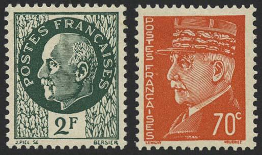 Lot 6309 - Kriegs- und Propagandafälschungen II. WK - Britische Fälschungen für das von Deutschland besetzte Frankreich -  Auktionshaus Ulrich Felzmann GmbH & Co. KG