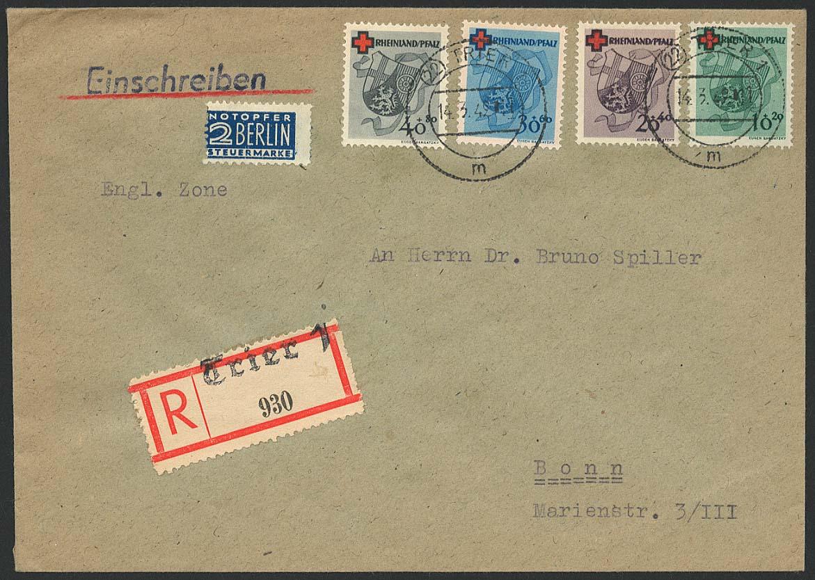 Lot 6515 - französische zone Rheinland-Pfalz - Rheinland-Pfalz -  Auktionshaus Ulrich Felzmann GmbH & Co. KG