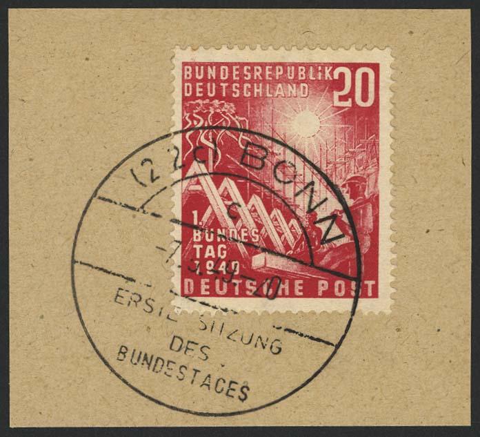 Lot 6553 - bundesrepublik deutschland Markenausgaben -  Auktionshaus Ulrich Felzmann GmbH & Co. KG