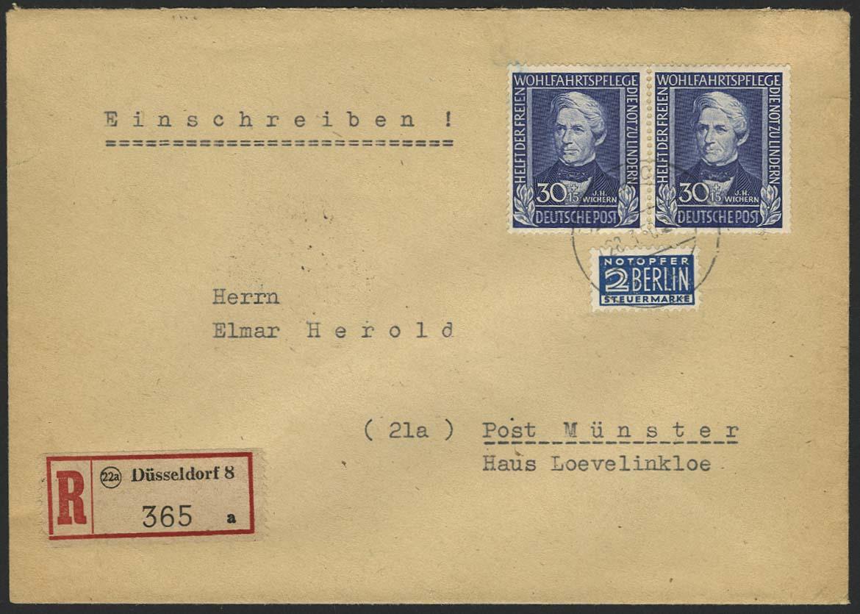 Lot 6561 - bundesrepublik deutschland Markenausgaben -  Auktionshaus Ulrich Felzmann GmbH & Co. KG