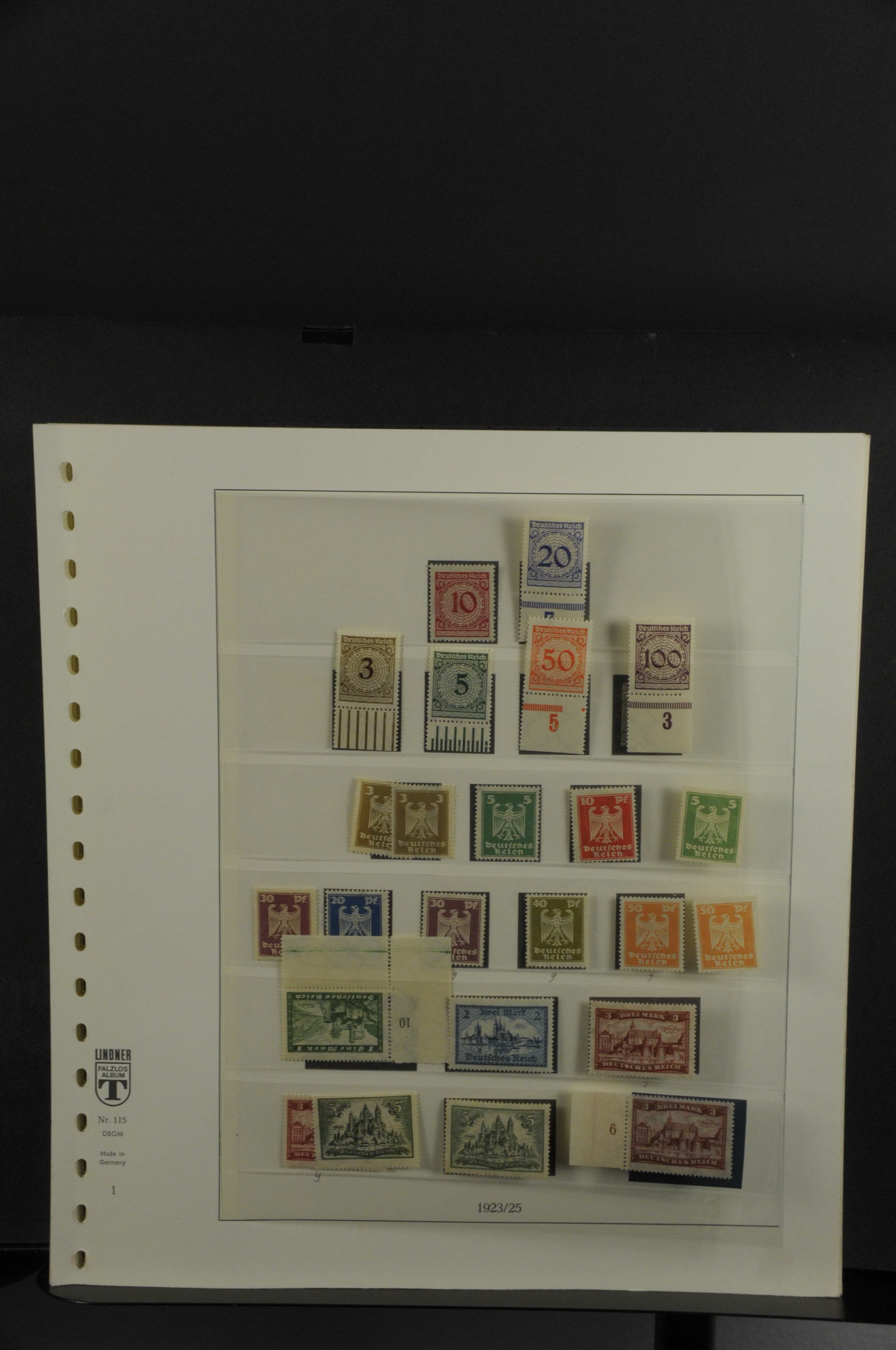 Lot 7918 - Deutsches Reich Allgemein -  Auktionshaus Ulrich Felzmann GmbH & Co. KG Auction 165 | Philately, Airmail, Zeppelinmail and Astrophilately, international,  German and collections.