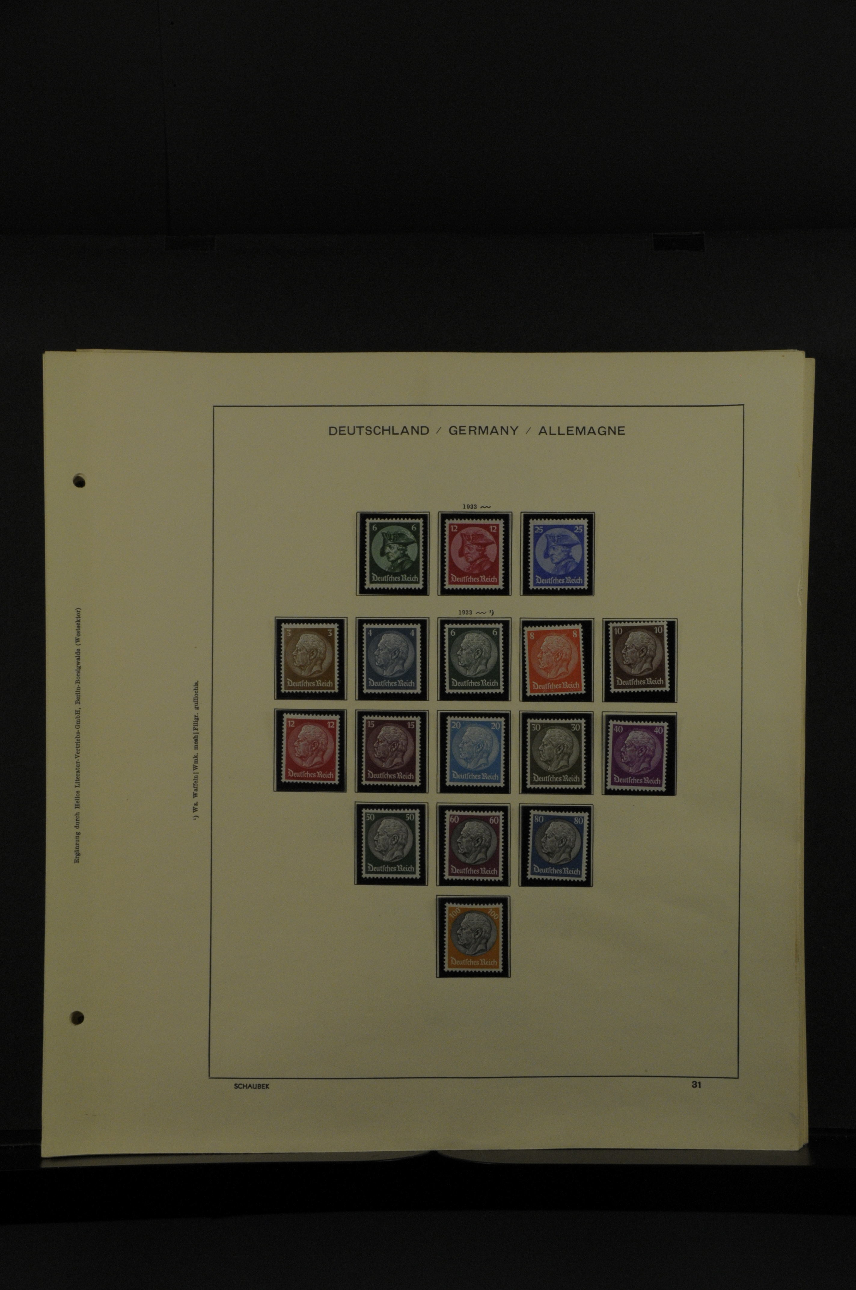 Lot 7929 - Deutsches Reich drittes reich -  Auktionshaus Ulrich Felzmann GmbH & Co. KG Auction 165 | Philately, Airmail, Zeppelinmail and Astrophilately, international,  German and collections.