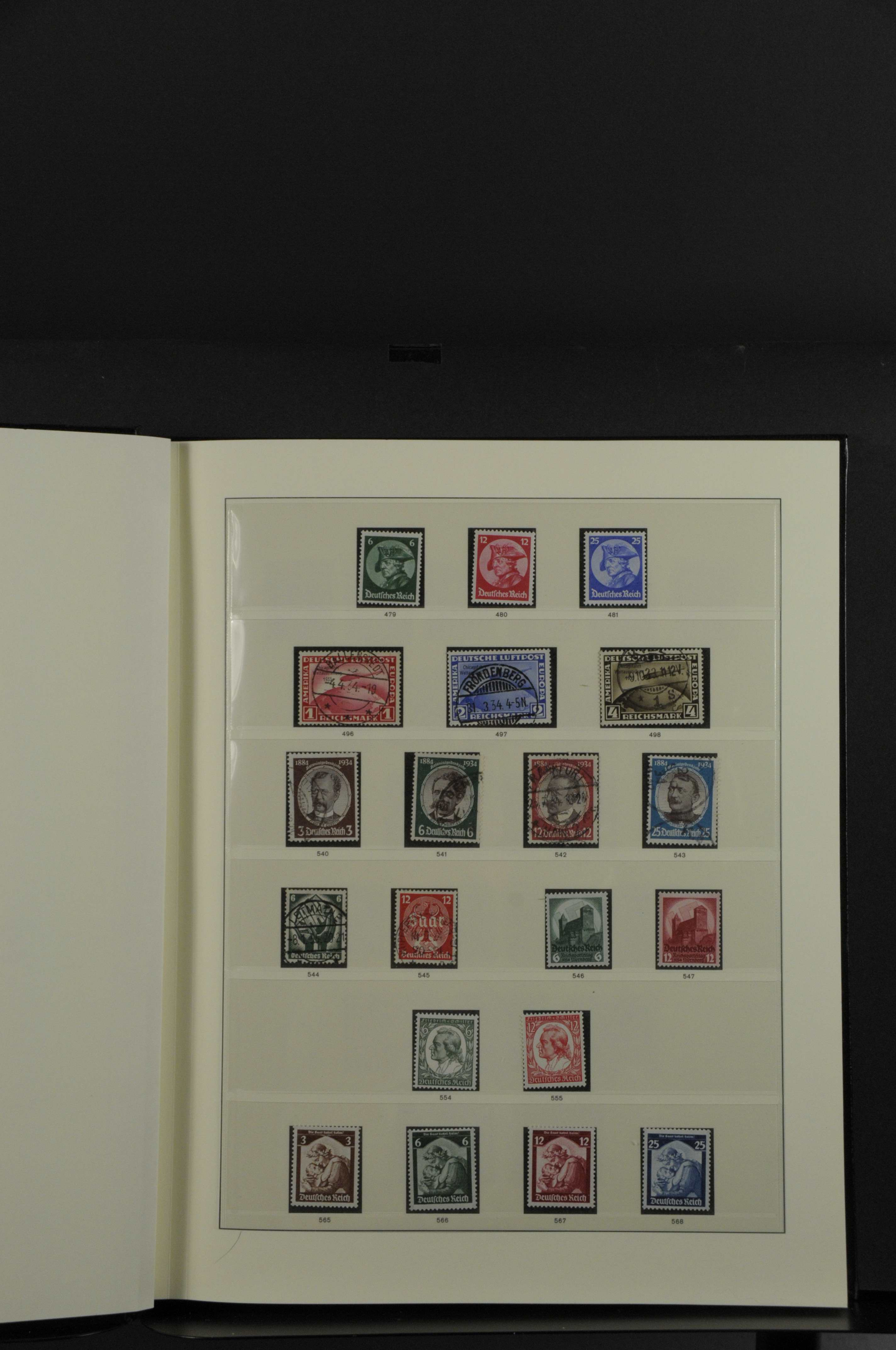 Lot 7932 - Deutsches Reich drittes reich -  Auktionshaus Ulrich Felzmann GmbH & Co. KG Auction 165   Philately, Airmail, Zeppelinmail and Astrophilately, international,  German and collections.