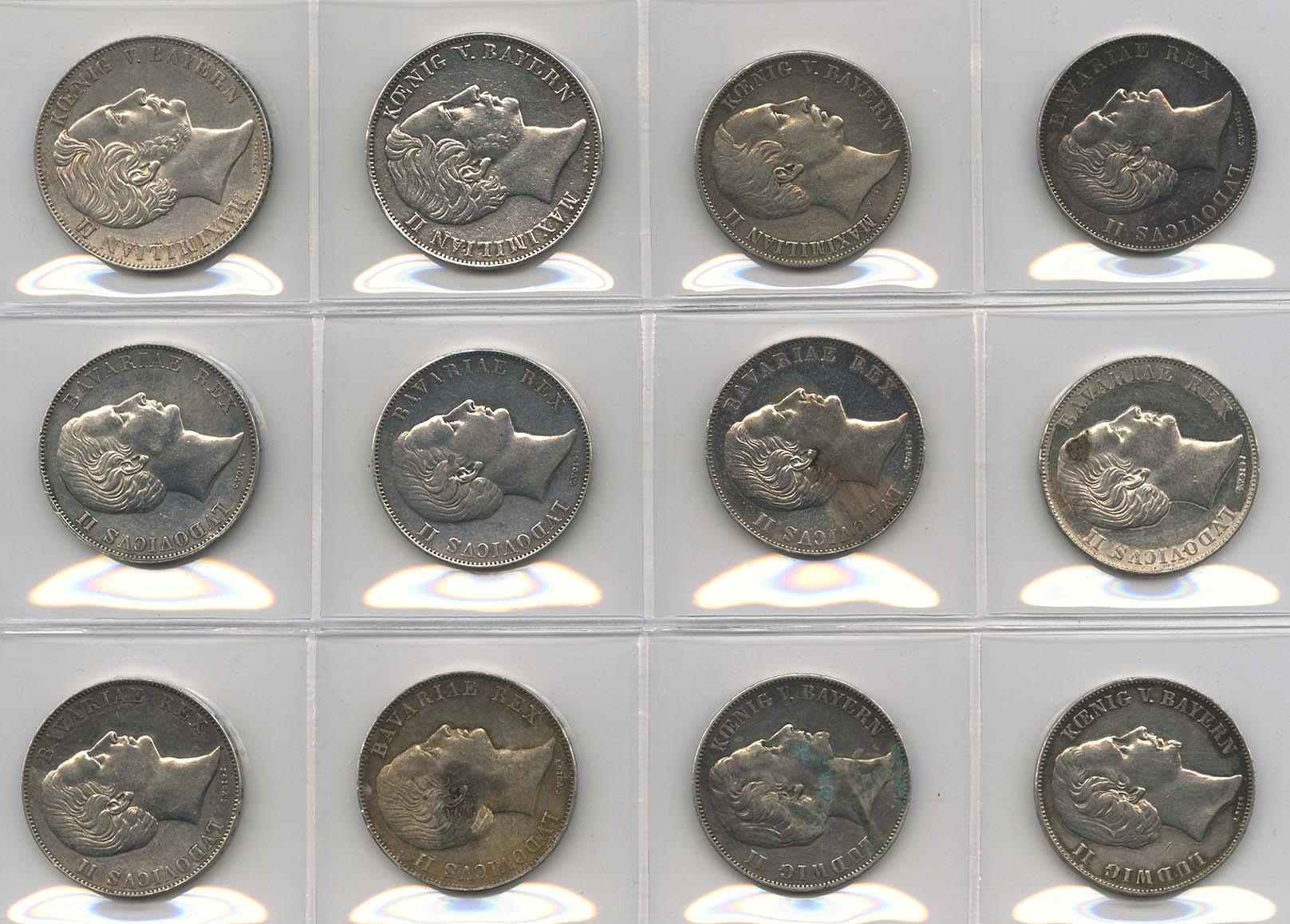 Lot 9148 - sammlungen Deutschland 1800-1871 -  Auktionshaus Ulrich Felzmann GmbH & Co. KG Coins single lots