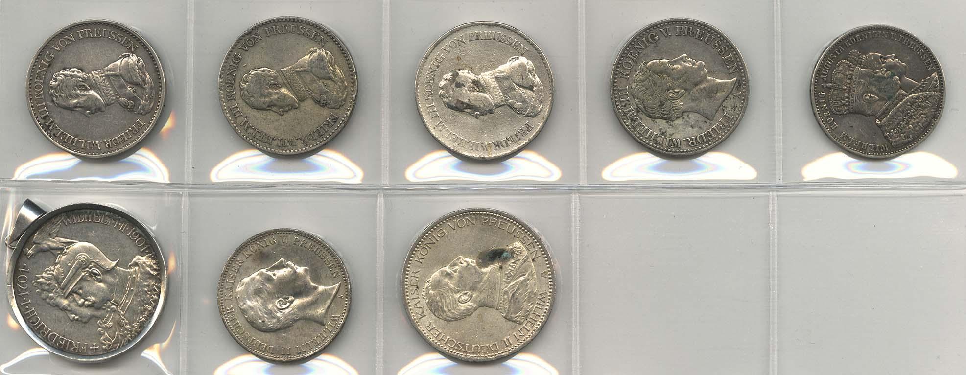 Lot 9150 - sammlungen Deutschland 1800-1871 -  Auktionshaus Ulrich Felzmann GmbH & Co. KG Coins single lots