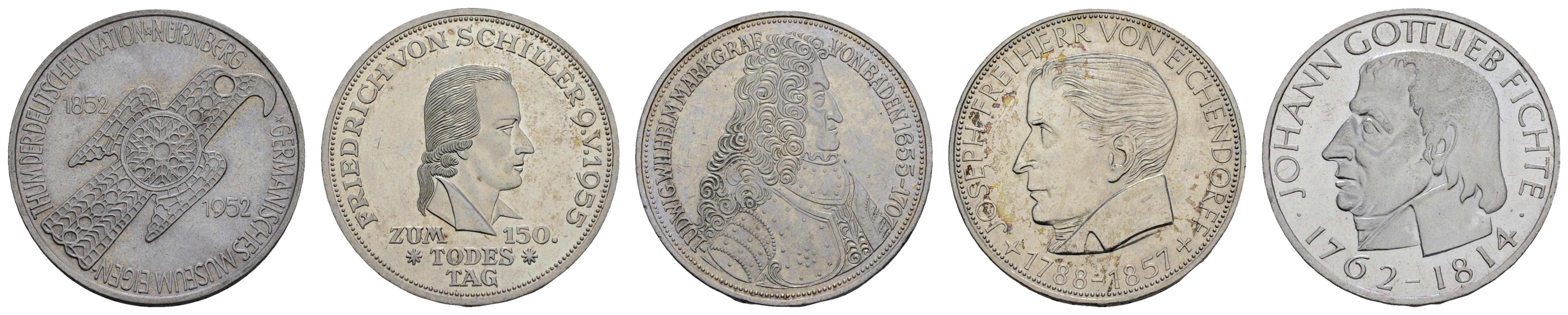 Lot 9235 - sammlungen BRD -  Auktionshaus Ulrich Felzmann GmbH & Co. KG Coins single lots