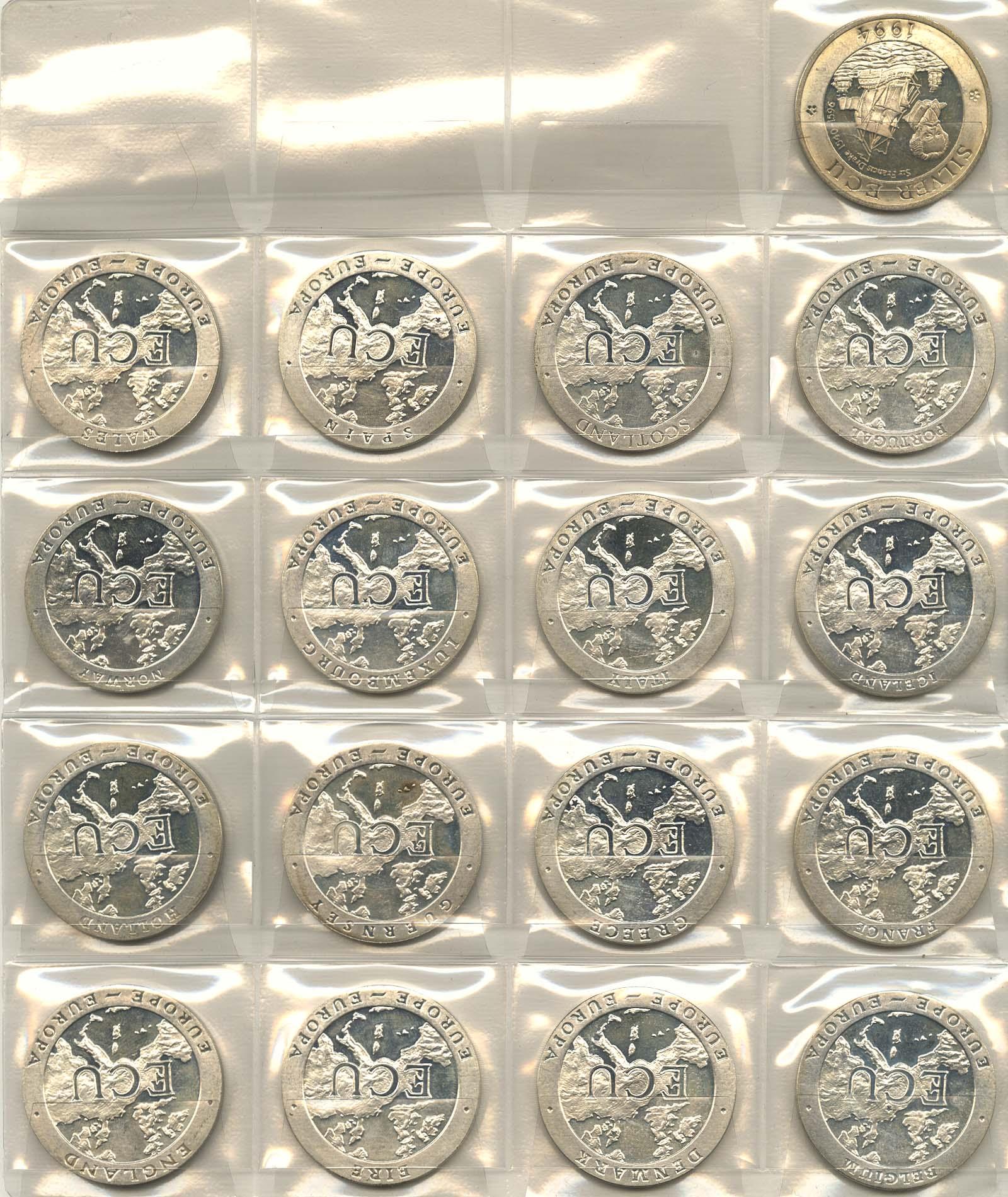 Lot 9508 - sammlungen Thematik - ECU -  Auktionshaus Ulrich Felzmann GmbH & Co. KG Coins single lots