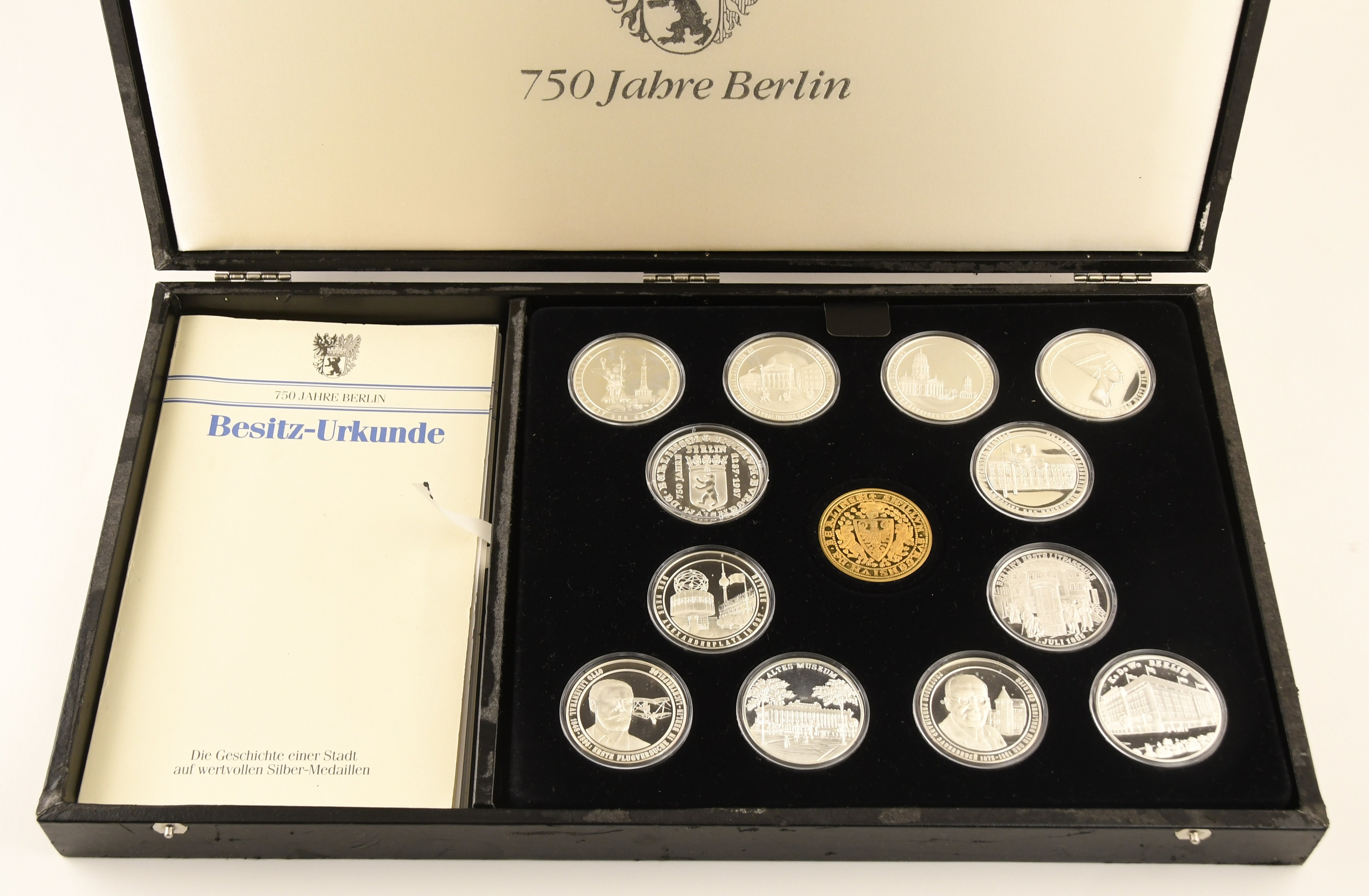 Lot 2668 - Sammlungen Medaillen 750 Jahre Berlin S -  Auktionshaus Ulrich Felzmann GmbH & Co. KG Auction 169