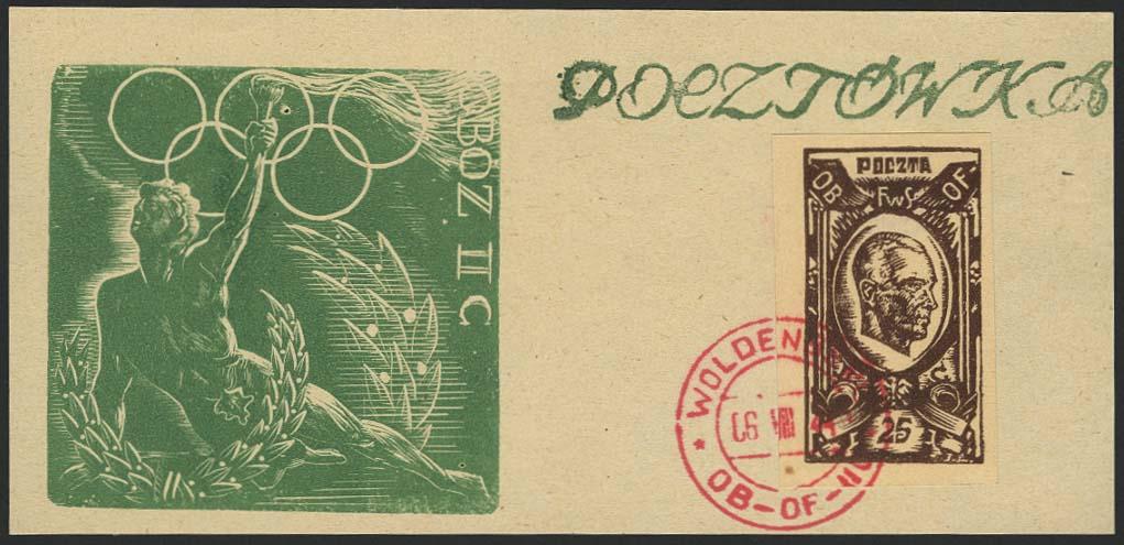Lot 5501 - Thematik Olympische Spiele  -  Auktionshaus Ulrich Felzmann GmbH & Co. KG Auction 169