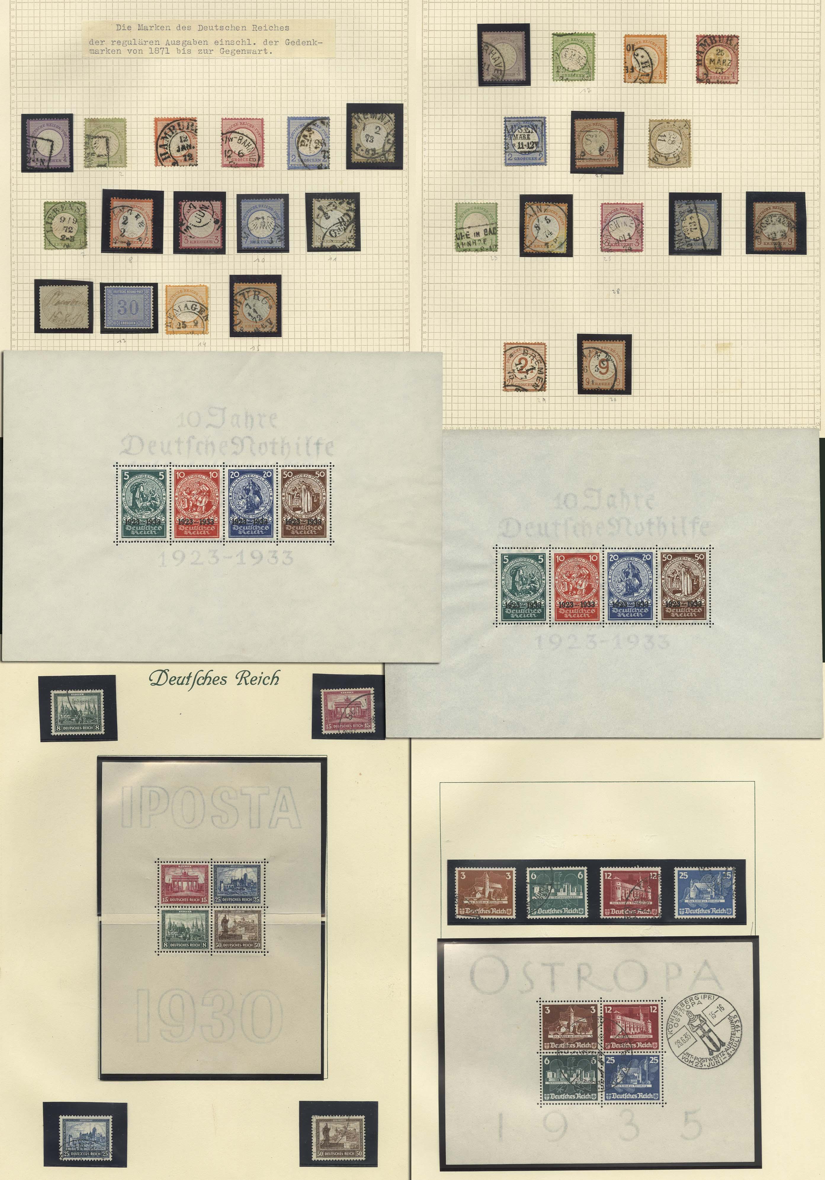 Lot 7100 - Deutsches Reich Allgemein S -  Auktionshaus Ulrich Felzmann GmbH & Co. KG Auction 169