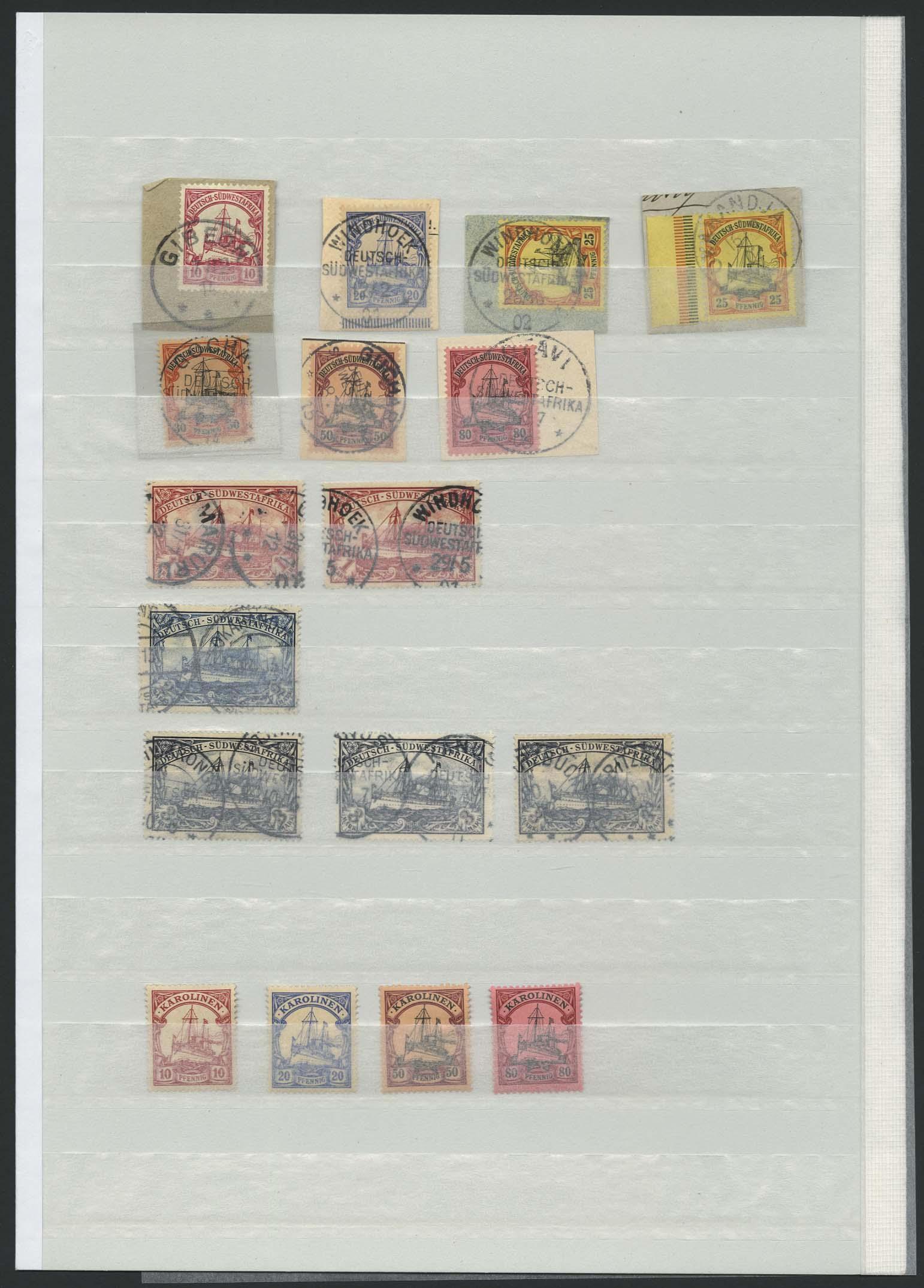 Lot 7197 - Auslandspostämter & Kolonien Allgemein S -  Auktionshaus Ulrich Felzmann GmbH & Co. KG Auction 169
