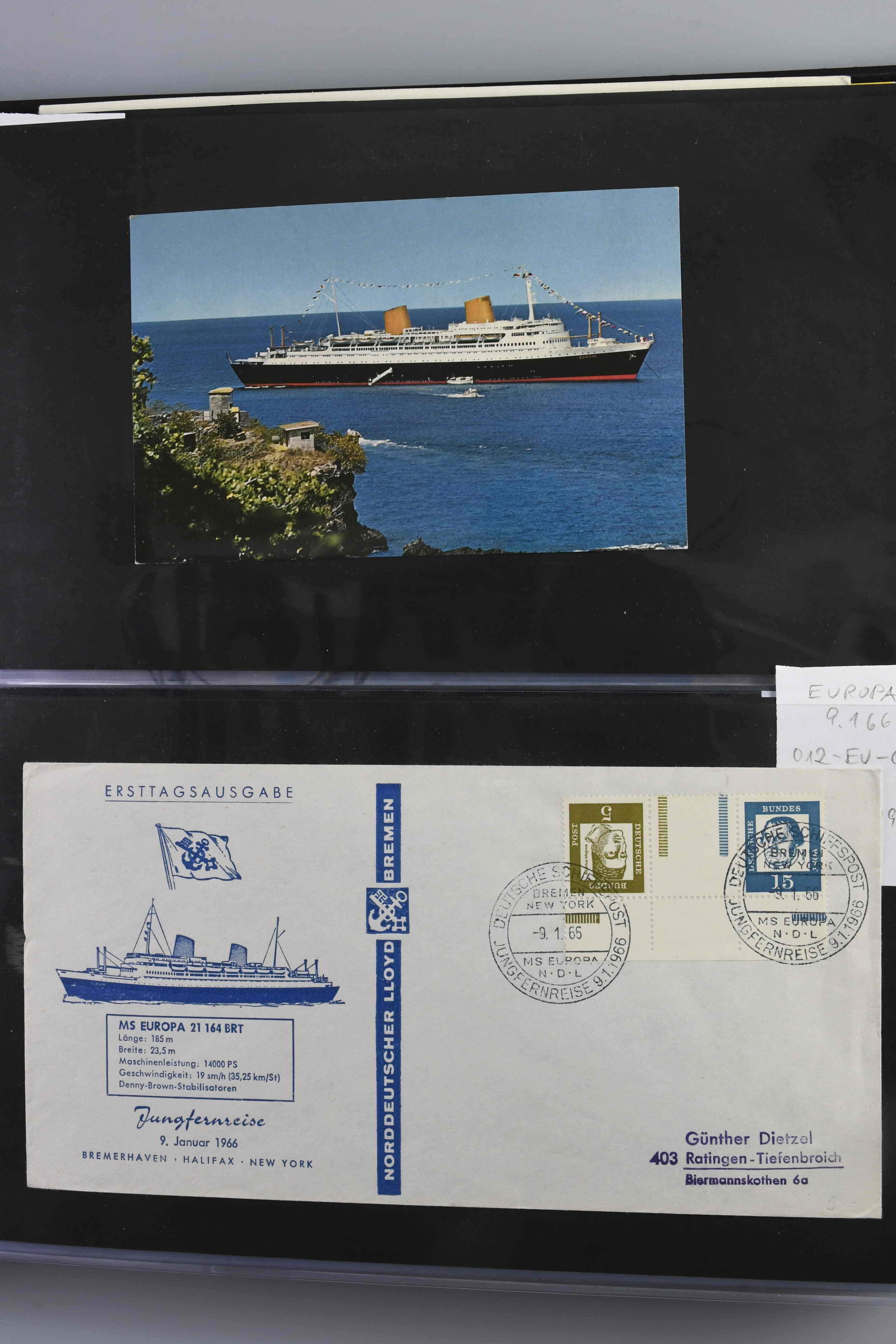 Schiffspost ab 1945